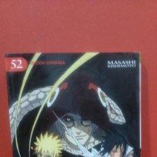 Cómics: CÓMIC MANGA NARUTO EDICIONES GLENAT NÚMERO 52. Lote 142956678