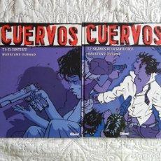 Cómics: CUERVOS TOMO 1 Y 2. Lote 142958906