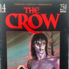 Cómics: EJEMPLAR Nº4 CÒMIC THE CROW. JAMES O'BARR. Lote 143051916