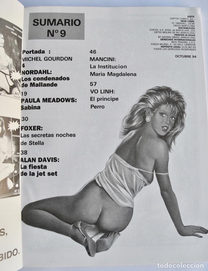 Cómics: Lote de 4 números de HOT. Cómics para Adultos. Carton Cómics, Barcelona. 1994. Cómic Erótico - Foto 8 - 143797094