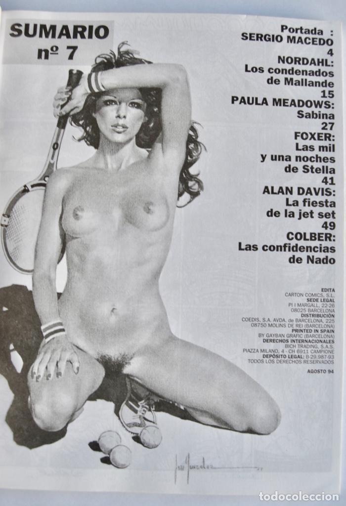 Cómics: Lote de 4 números de HOT. Cómics para Adultos. Carton Cómics, Barcelona. 1994. Cómic Erótico - Foto 9 - 143797094