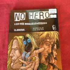 Cómics: GLENAT NO HERO MUY BUEN ESTADO REF.1208. Lote 144919242