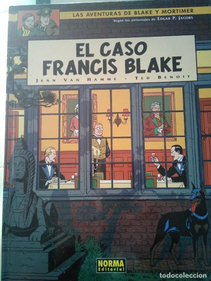 LAS AVENTURAS DE BLAKE Y MORTIMER - EL CASO FRANCIS BLAKE 2ªED. Nº 13 (Tebeos y Comics - Glénat - Comic USA)