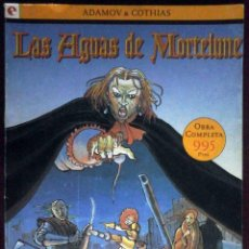 Cómics: LAS AGUAS DE MORTELUNE COMPLETA DEL 1 AL 5 - ADAMOV Y COTHIAS - PERFECTO ESTADO.. Lote 146545282