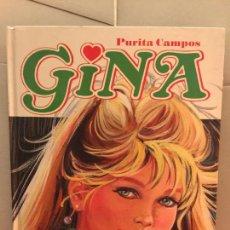 Cómics: GINA - COLECCION PURITA CAMPOS, DE GLENAT. 206 PAGS. IMPECABLE. Lote 147077490