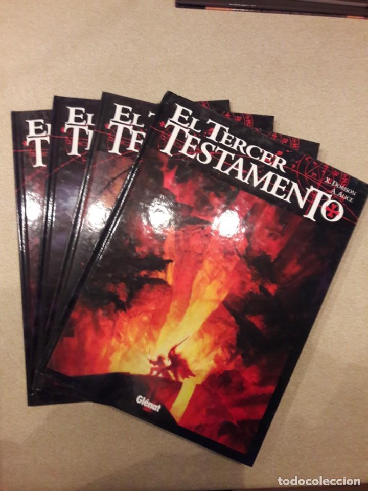 EL TERCER TESTAMENTO, DORISON / ALICE, COMPLETA (4 TOMOS) (Comics und Tebeos - Glénat - Comics USA)