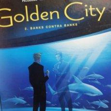 Cómics: GOLDEN CITY N. 2.BANKS CONTRA BANKS. Lote 147492542