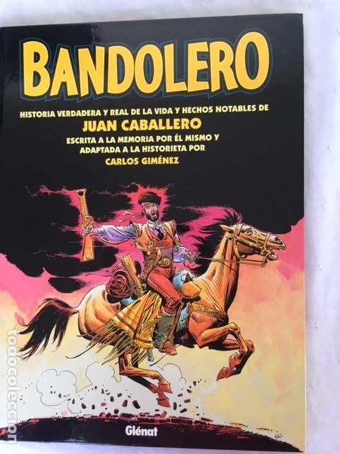BANDOLERO - JUAN CABALLERO (Tebeos y Comics - Glénat - Autores Españoles)