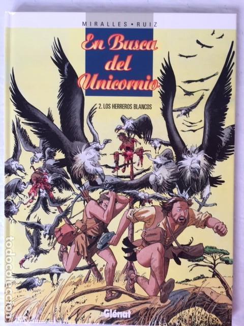 Comics: EN BUSCA DEL UNICORNIO - Coleccion Completa 3 álbumes - Foto 2 - 147536810