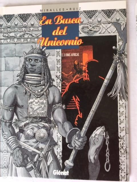 Comics: EN BUSCA DEL UNICORNIO - Coleccion Completa 3 álbumes - Foto 3 - 147536810