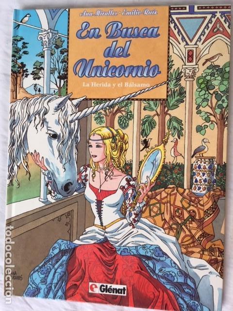EN BUSCA DEL UNICORNIO - COLECCION COMPLETA 3 ÁLBUMES (Comics und Tebeos - Glénat - Spanische Autoren)
