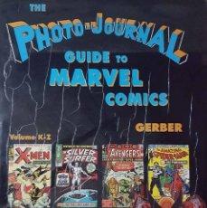 Cómics: THE PHOTO.JOURNAL GUIDE TO MARVEL COMIC 2 TOMOS V-3 V-4-7700 PORTADAS A TODO COLOR. Lote 147659030