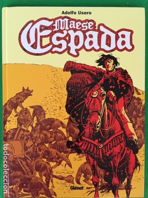 MAESE ESPADA POR ADOLFO USERO - ED. GLENAT (Tebeos y Comics - Glénat - Autores Españoles)
