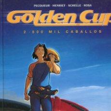 Cómics: GOLDEN CUP. 2.500 MIL CABALLOS . TOMO 2. GLENAT . Lote 147822710