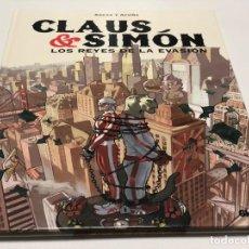 Cómics: CLAUS & SIMON. LOS REYES DE LA EVASION. GLENAT. Lote 147948518