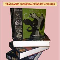 Cómics: LOTE 4 LIBROS COMICS SNOOPY Y CARLITOS. Lote 148177858