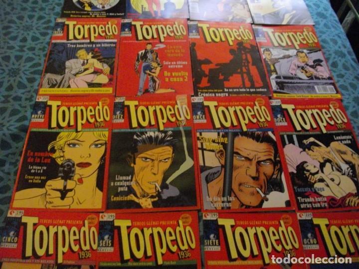 Cómics: COMICS TORPEDO 1936 - GLENAT - COMPLETA 30 NUMEROS -LOS DE LAS FOTOS MIRA TODOS MIS TEBEOS - Foto 2 - 149136266