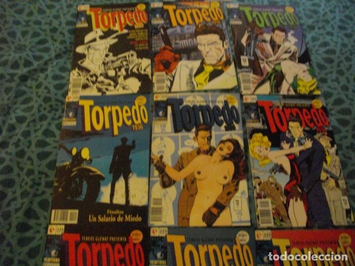 Cómics: COMICS TORPEDO 1936 - GLENAT - COMPLETA 30 NUMEROS -LOS DE LAS FOTOS MIRA TODOS MIS TEBEOS - Foto 5 - 149136266