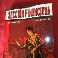 Cómics: GLENAT SECCION FINANCIERA NUMERO 1 MUY BUEN ESTADO REF.TD10. Lote 149564522