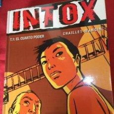 Cómics: GLENAT INTOX NUMERO 1 MUY BUEN ESTADO REF.TD10. Lote 149564786