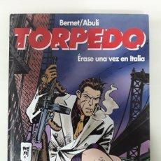 Cómics: TORPEDO - ERASE UNA VEZ EN ITALIA - ED GLENAT - BERNET Y ABULI. Lote 150283410