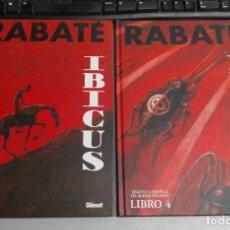 Cómics: ÍBICUS LIBRO 2 Y 4 / RABATÉ SEGÚN LA NOVELA DE ALEXIS TOLSTOI / GLENAT. Lote 150348942