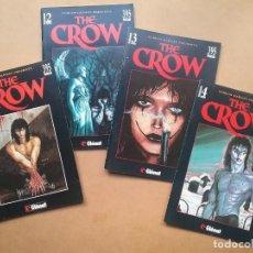 Cómics: THE CROWN CÓMIC EL CUERVO LOTE 4 GLENAT AÑO 1994. Lote 150541382