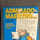 Cómics: TEBEO CÓMIC. ADMIRADO MAESTRO, POR VÁZQUEZ. LAS CARTAS SOBRE LA MESA. VOL.1 (A.1995). Lote 150544810