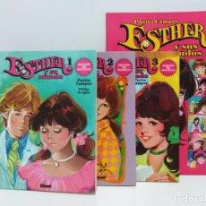 Fumetti: LOTE DE ESTHER Y SU MUNDO #1, 2 Y 3 EDICIÓN DE BOLSILLO MÁS EL ESPECIAL ESTHER Y SUS MUNDOS.. Lote 150614782