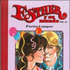 Comics: ESTHER Y SU MUNDO NÚMERO 15 PURITA CAMPOS EDICIONES GLENAT. Lote 151355266