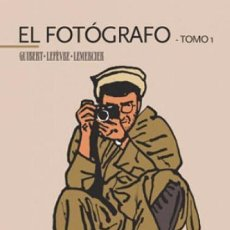 Cómics: EL FOTOGRAFO. LOTE CON LOS TOMOS 1 Y 2 - GLENAT - OFSF15. Lote 151448362