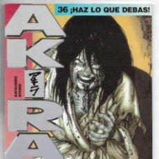 Cómics: AKIRA 36. Lote 152196110