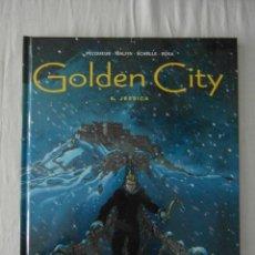 Cómics: GOLDEN CITY. 6. JESSICA. PECQUEUR, MALFIN, SCHELLE, ROSA. GLENAT. 2005. MUY BUEN ESTADO. Lote 152456750
