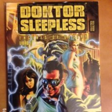 Cómics: DOKTOR SLEEPLESS LIBRO 1 : ENGINES OF DESIRE POR WARREN ELLIS E IVAN RODRIGUEZ - GLENAT AVATAR . Lote 152487162