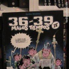 Cómics: 36-39 MALOS TIEMPOS TOMO 04. CARLOS GIMÉNEZ. GLENAT, 2007.. Lote 152674082