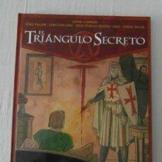 Cómics: EL TRIANGULO SECRETO TOMO III DE CENIZA Y ORO. GLENAT. Lote 153011270