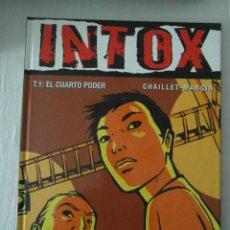 Fumetti: PERFECTO ESTADO. INTOX. T.1: EL CUARTO PODER. CHAILLET-MANGIN. GLENAT. Lote 153092466