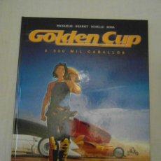 Cómics: MUY BUEN ESTADO. GOLDEN CUP 2. 500 MIL CABALLOS. GLENAT. PECOUEUR, MALFIN, SCHELLE, ROSA. Lote 153256630