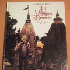 Fumetti: EL VAMPIRO DE BENARÉS 1. LA BESTIA DE LA NOCHE - GEORGES BESS. Lote 154516966