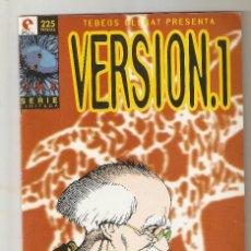 Cómics: VERSION.1 - Nº 2 (DE 8) - HISASHI SAKAGUCHI - TEBEOS GLENAT -1996 - . Lote 154706170