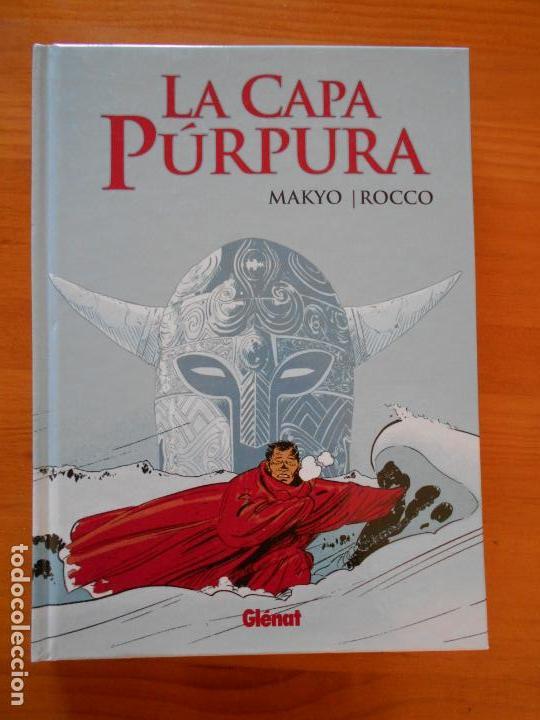 LA CAPA PURPURA - MAKYO - ROCCO - GLENAT - TAPA DURA (9Ñ2) (Tebeos y Comics - Glénat - Autores Españoles)