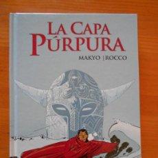 Cómics: LA CAPA PURPURA - MAKYO - ROCCO - GLENAT - TAPA DURA (9Ñ2). Lote 154934782