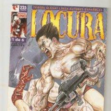 Cómics: LOCURA - Nº 1 DE 6 - LINEA AUTORES ESPAÑOLES - COMIC EROTICO - GLENAT- 1996 - . Lote 155993858