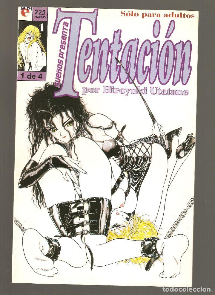 TENTACION - Nº 1 DE 4 - SUEÑOS PRESENTA - COMIC EROTICO - GLENAT- 1996 - (Tebeos y Comics - Glénat - Serie Erótica)