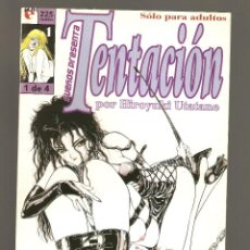 Cómics: TENTACION - Nº 1 DE 4 - SUEÑOS PRESENTA - COMIC EROTICO - GLENAT- 1996 -. Lote 155999342