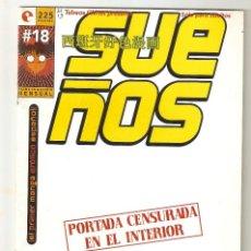 Cómics: SUEÑOS - Nº 18 - CONTIENE EL POSTER - COMIC EROTICO - GLENAT- 1996 -. Lote 156000354