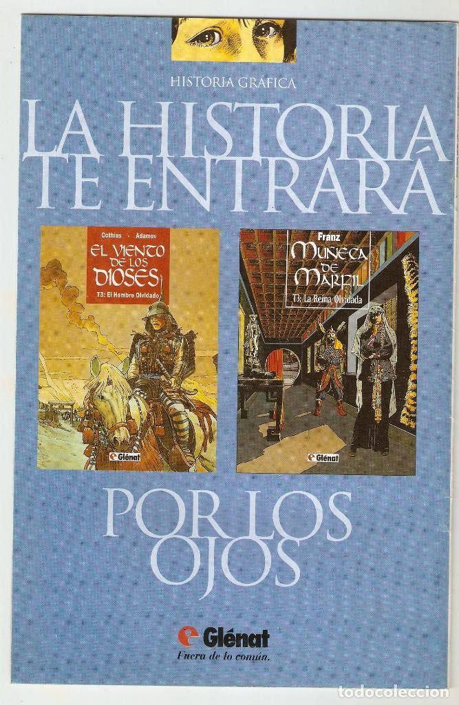 Cómics: SUEÑOS - Nº 18 - CONTIENE EL POSTER - COMIC EROTICO - GLENAT- 1996 - - Foto 2 - 156000354