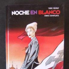 Cómics: NOCHE EN BLANCO COLECCION INTEGRAL GLENAT. Lote 156052754