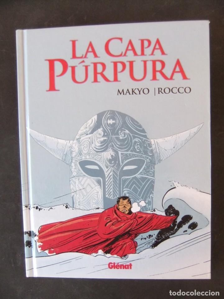 LA CAPA PURPURA COLECCION INTEGRAL GLENAT (Tebeos y Comics - Glénat - Autores Españoles)