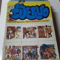 Cómics: EL CUERVO (RETAPADOS). Lote 156409882